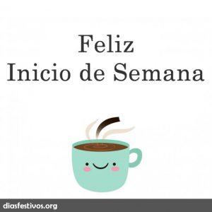 feliz inicio de semana rico cafe