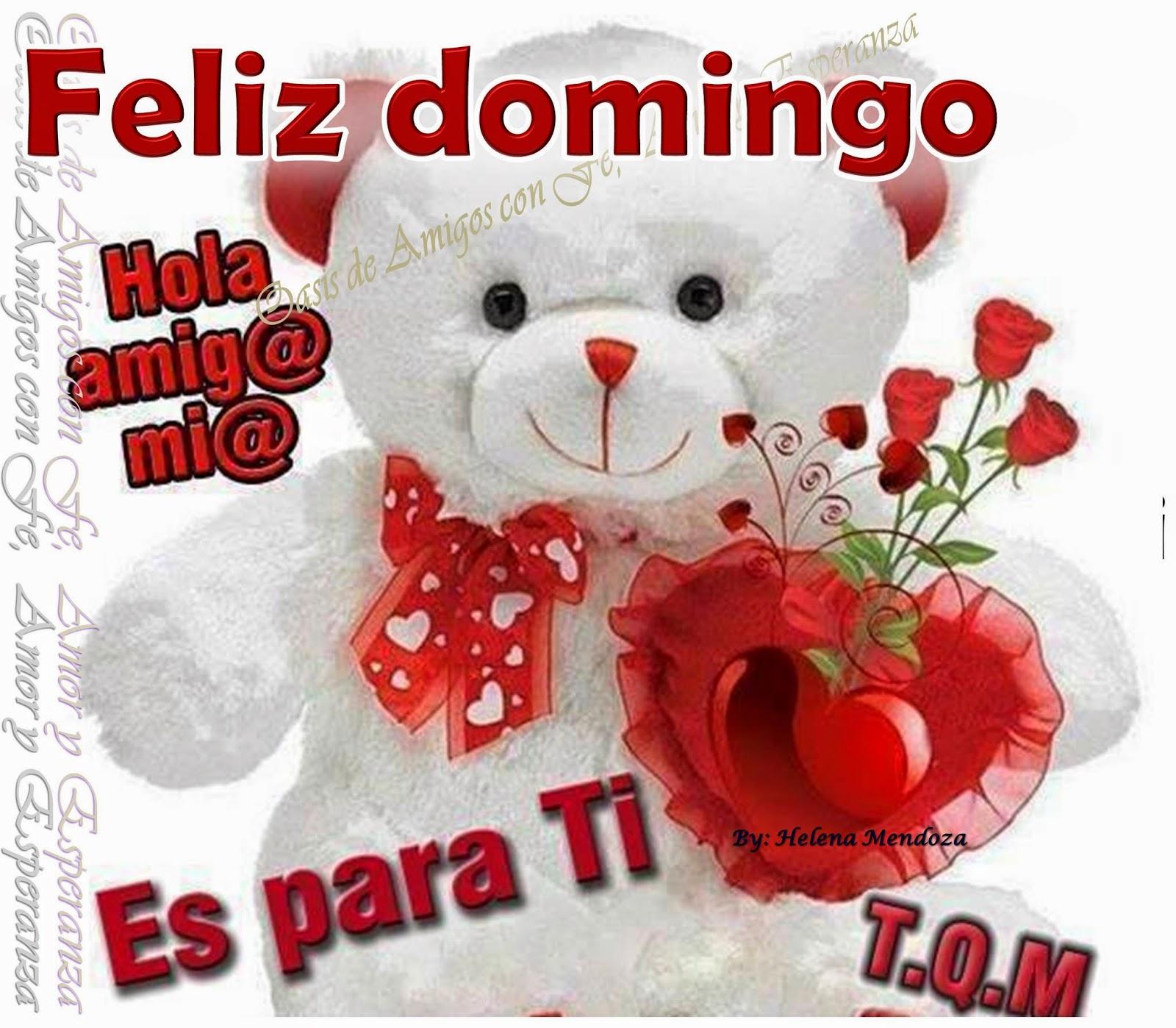 Bonito Lunes Mi Amor envia imágenes de feliz domingo en frases y mensajes bonitos